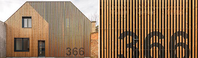 SM Gent house renovation by Simon Vermote architectuur