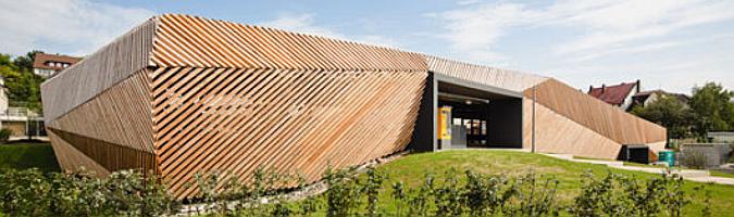 Judit bellostes categor a arquitectura y origami estudio de arquitectura - Parking de madera ...