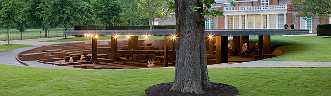 topografías de corcho - serpentine gallery pavilion 2012