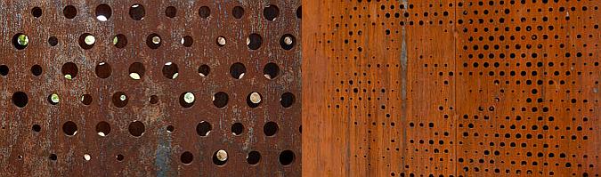 Judit bellostes categor a arquitectura y acero cort n for Acero corten perforado oxidado