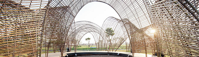 Taiwan forest pavilion