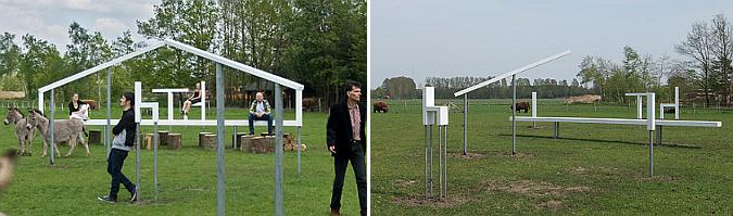anamorfismo campestre - transformation installation