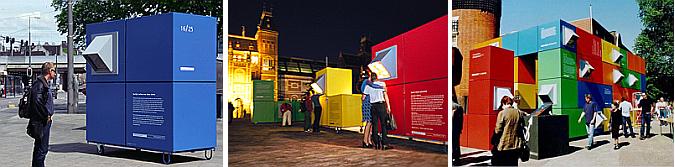 arquitectura efímera - urban tetris