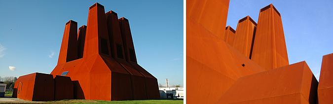 arquitectura y acero cortén - WKK energy plant