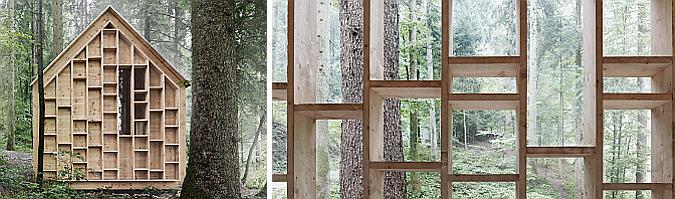 Waldsetzkasten, aula de la naturaleza en Wolfurt 01