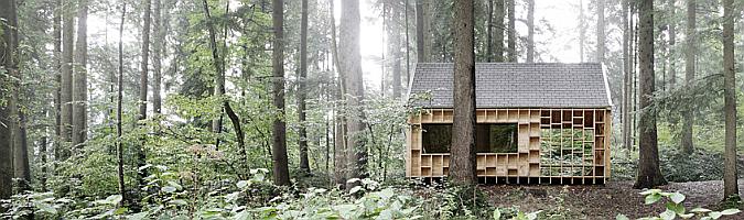 Waldsetzkasten, aula de la naturaleza en Wolfurt