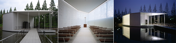 aros de luz y de sombras - White chapel by Jun Aoki