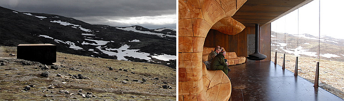 madera escarpada - wild reindeer, information centre