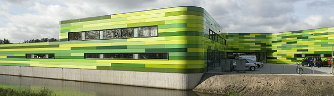 arquitectura y color – animal refuge centre in Amsterdam