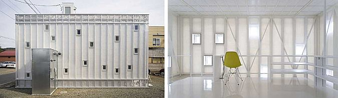 minimalismo en blanco - annex house
