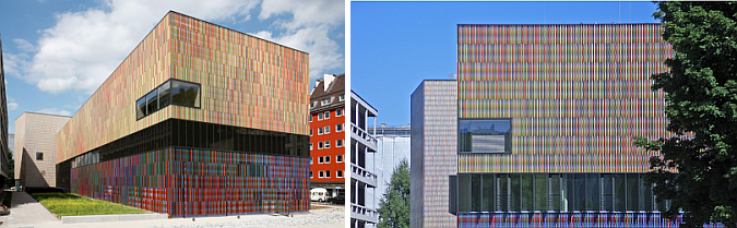 collage de colores - brandhorst museum