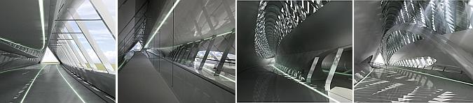 en construcción - Zaragoza bridge pavilion