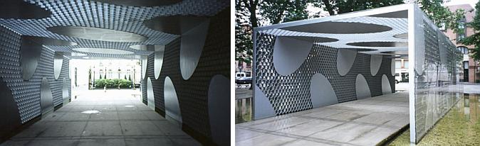 arquitectura y aluminio - Bruges pavilion