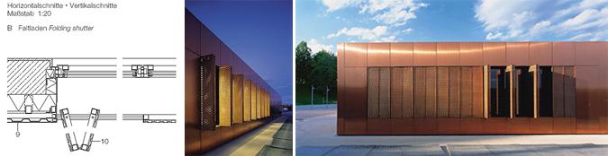 Arquitectura y deployé - Centro de servicios Theresienwiese