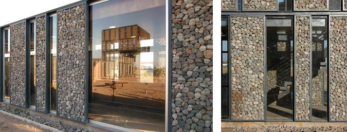 Judit bellostes arquitectura piedra y acero parque metropolitano cerro chena estudio de Cerramientos de piedra