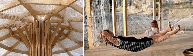 Judit bellostes redes chinoiserie modular pavilion for Pabellones arquitectura efimera