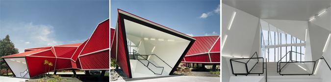 Arquitectura y acero - Museo del Chocolate