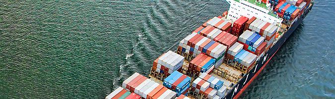 container buque