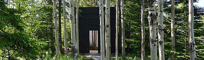 courtesy of nature, garden pavilion