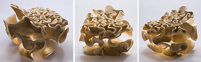 curvando curvas - csh chair by Akihisa Hirata