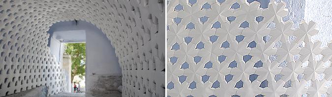 el rastro del tiempo - daphne, temporary paper installation