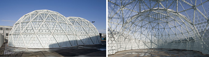 doble cúpula – domes pavilion