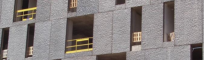 hormigón arquitectónico premoldeado - edificio Inakasa
