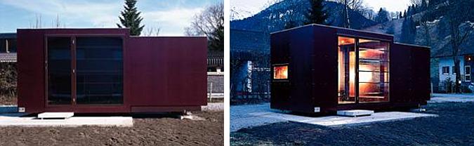dos cubos y una casa -  fertighaus, mobile house