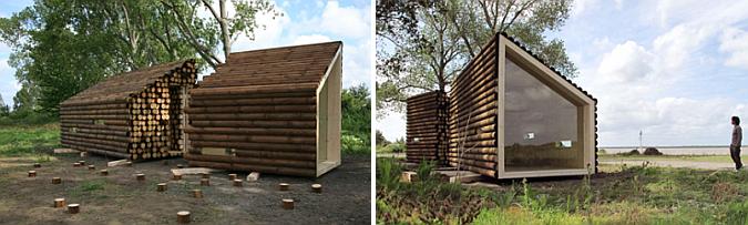 Judit bellostes refugio de madera flake house estudio de arquitectura - Refugios de madera prefabricados ...