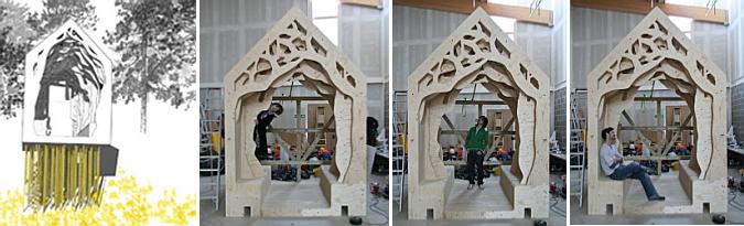 la casa del cuento - freya's cabin, in construction