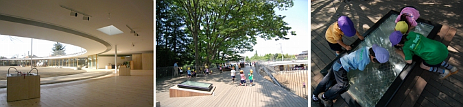 jugando en la azotea - fuji kindergarten