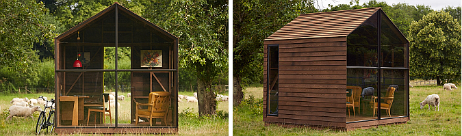 garden shed by Paul Smith and Nathalie de Leval