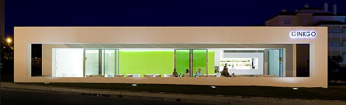 Fachada de un bar estilo minimalista casas y fachadas for Bar casa minimalista
