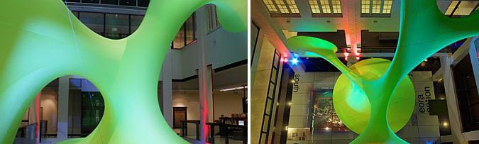 vacío ocupado - green void installation