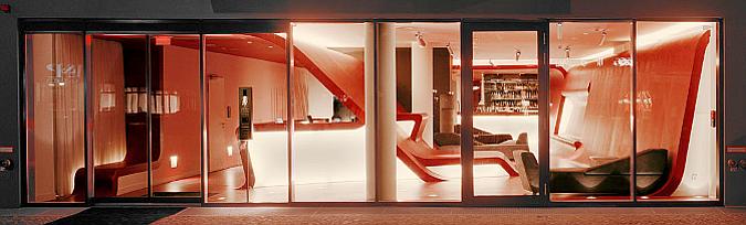 morfología interior - hotel Q
