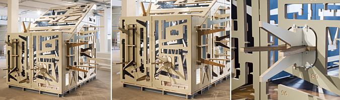 contenido + contenedor - house of furniture parts, pavilion