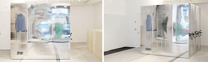 transparencias y reflejos - k space, concept store