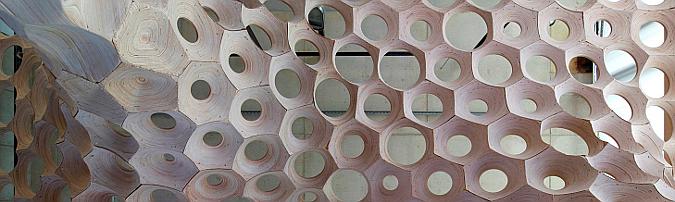 la voûte de LeFevre experimental pavilion