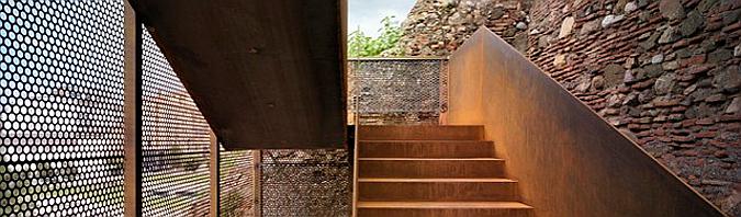 Judit bellostes resultados de la b squeda de escaleras for Acero corten perforado oxidado