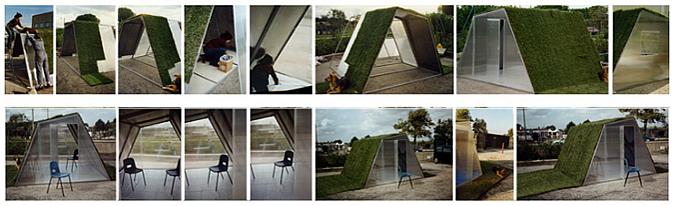 cubierta de hierba - lawn house