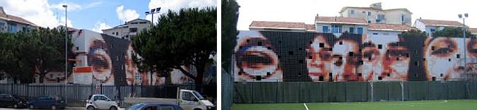 una imagen para la fachada - new library for Lombardi school