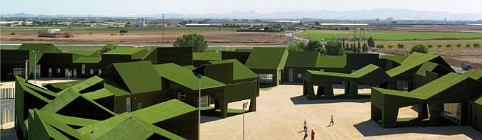 """""""los cachimanes"""" green schol"""