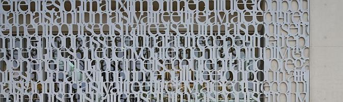Judit bellostes tipograf a de metal m diath que bdiv - Celosias de hormigon ...