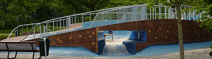 cráter lúdico - melis stokepark, playground