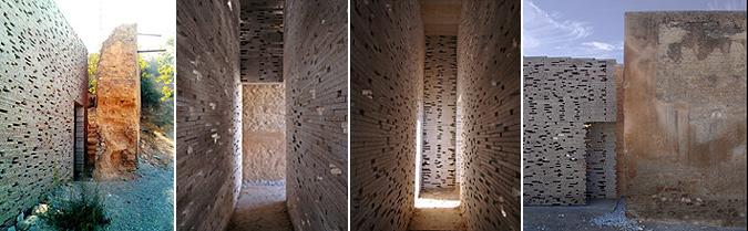 piedra a piedra - intervención en la muralla Nazarí