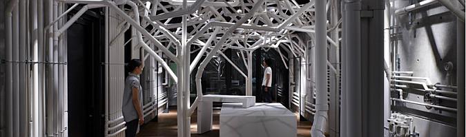 naturaleza fabricada - nature factory, installation
