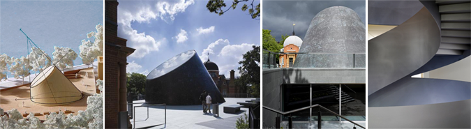 Planetario en Greenwich - Peter Harrison Planetarium