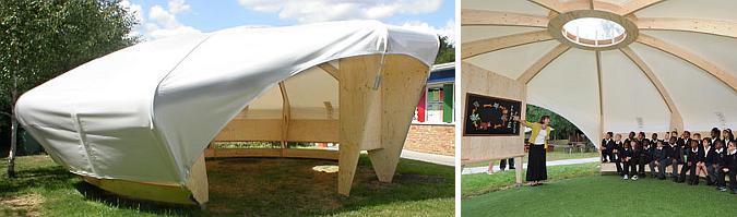 Judit bellostes aula modular outdoor classroom for Aulas web arquitectura