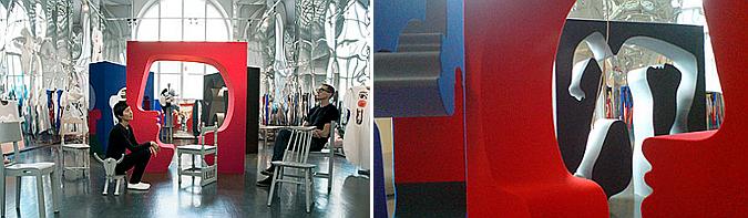 las siluetas de picasso - picasso's livingroom