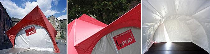 teatro itinerante - pPod mobile theatre
